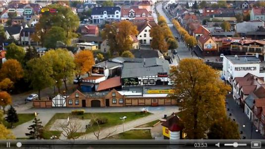 Leba Town Centre Streaming Weather Webcam Leba Poland