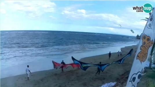 Cabarete Kitesurfing Beach Weather Web Cam Dominican Republic Caribbean