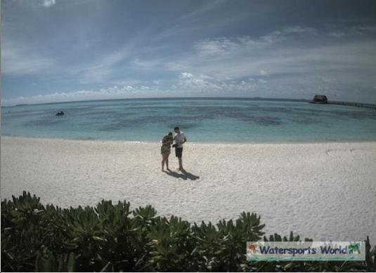 Olhuveli Beach and Spa Resort Beach Weather Web Cam South Male Atoll Maldives