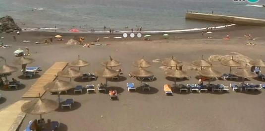 Callo Salvaje Seaside Resort Playa Ajabo Beach Weather Web Cam Adeje Tenerife Canary Islands