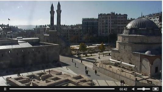 Sivas City Centre Traffic Weather Webcam Central Turkey