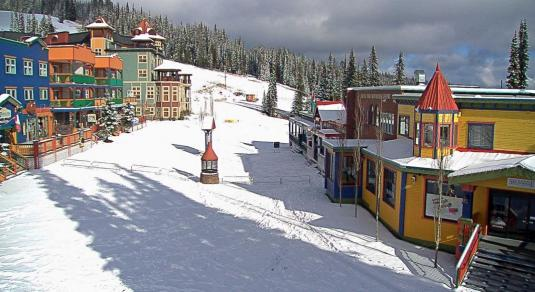 Silver Star Mountain Resort Winter Sports Weather Cam British Columbia Canada