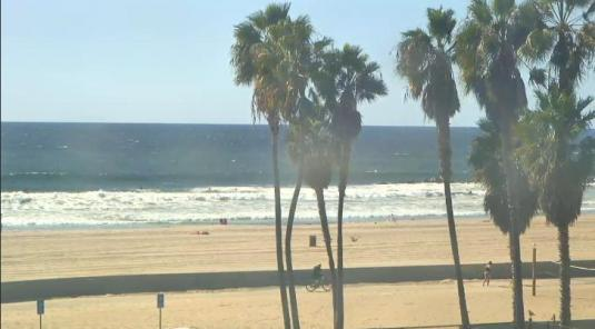Venice Beach Live Streaming Surfing Weather Web Cam City of Los Angeles California