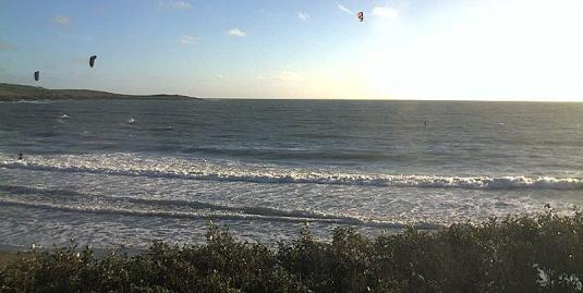 Garrylucas Kite Surfing Beach Weather Web cam County Cork Ireland