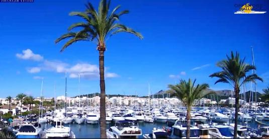 Puerto Alcúdia Marina Weather Web Cam North Majorca Island of Majorca