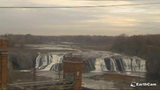 Cohoes Falls Live Streaming Web Cam Mohawk River New York