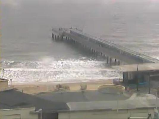 Boscombe Beach Pier Surfing Weather web cam Bournemouth Dorset England