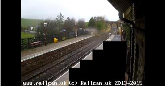 Kirkby Stephen Railway Station Web Cam Cumbria North West England