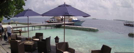 Lily Beach Resort Holiday Weather Web Cam Huvahendhoo Malidives