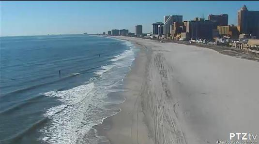 Atlantic City Streaming Beach Weather HD Web Cam Atlantic County New Jersey