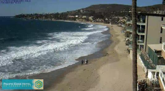 Pacific Edge  Hotel Live Streaming Laguna Beach Weather Web Cam California