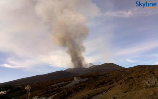 Mount Etna Webcam Live Streaming Mount Etna Volcano Cam Sicily Italy