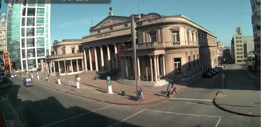 Solis Theatre Live Streaming Web Cam Independence Square Montevideo Uruguay