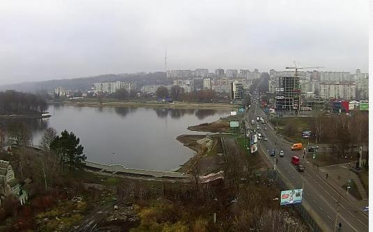 Khmelnytskyi City Weather Web Cam Podolia Buh River West Ukraine