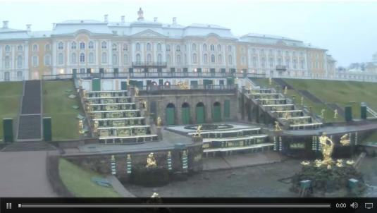 Peterhof Palace Webcam Saint Petersburg Russia