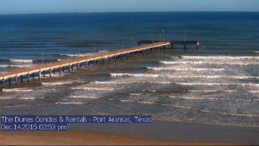 Live City Of Port Aransas Weather Cam Mustang Island Nueces County