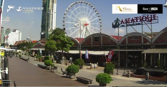 Asiatique The Riverfront Live Bangkok Weather Web Cam Thailand