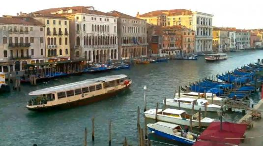 City of Venice Grand Canal Web Cam Venice Italy