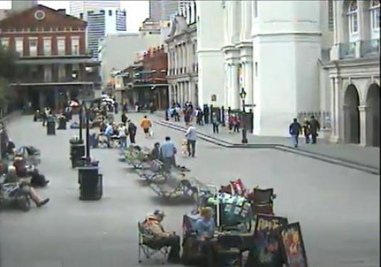 Jackson Square People Watching Web Cam French Quarter New Orleans