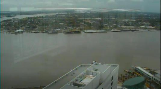 Canal Street Ferry Weather Web Cam French Quarter New Orleans
