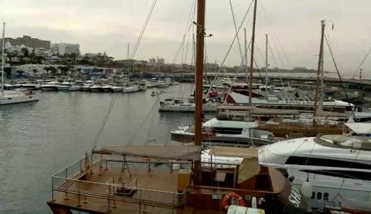 Santa Cruz Live Streaming Puerto Colon Marina Weather Web Cam Tenerife