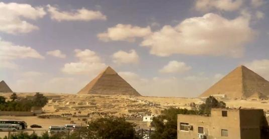 Pyramids Of Giza And The Sphinx Webcam Cairo Egpyt