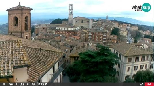 Perugia Old Town Weather Cam City of Perugia Italy