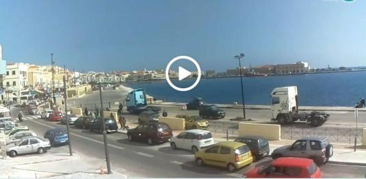 Island of Syros Weather Web Cam Ermoupoli Greece