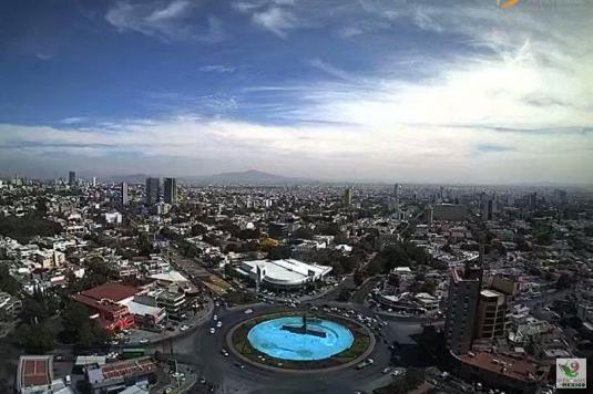 Guadalajara Panorama Weather Web Cam Mexico
