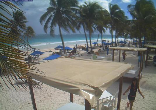 Tulum North Beach Weather Web Cam Quintana Roo Mexico