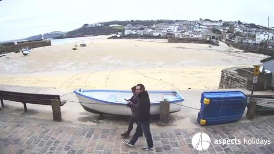 St Ives Harbour Holiday Weather Web Cam Cornwall England
