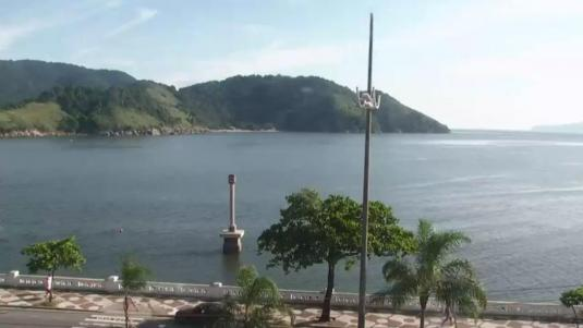 Ponta da Praia Weather Web Cam City of Santos Brazil