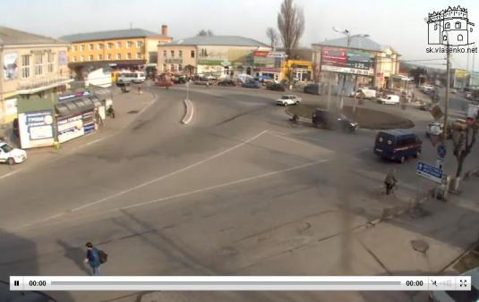 Starokostiantyniv City Centre Traffic Weather Web Cam Ukraine