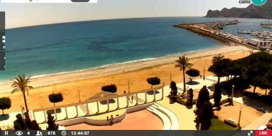 Altea Playa La Roda Beach Weather Web Cam Alicante Spain