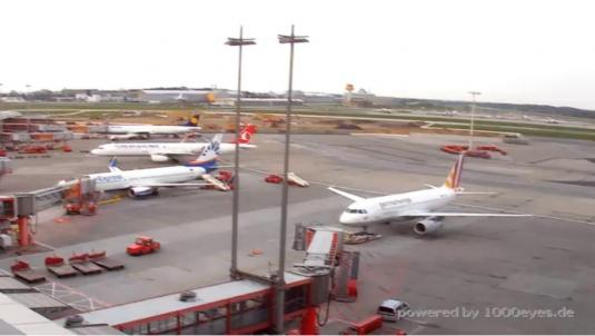 Hamburg International Airport South Terminal Weather Web Cam Germany