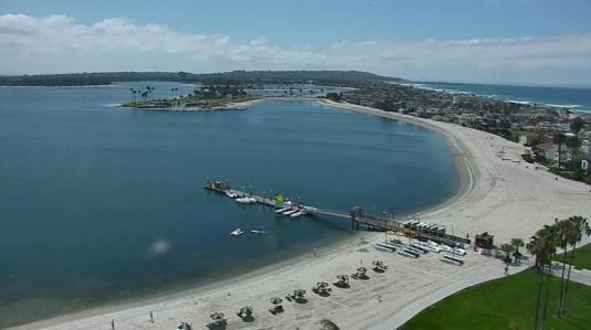 Pacific Beach Live Mission Bay Weather Web Cam San Diego California