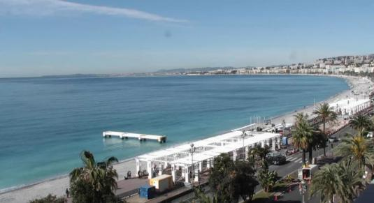 Promenade des Anglais Weather Web Cam City of Nice South France