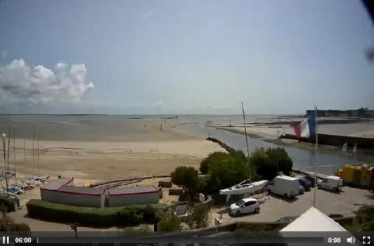 La Baule-Escoublac Beach Weather Web Cam West France