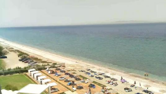 Rhodes Island Trianta Beach Holiday Weather Web Cam Rhodes Greece