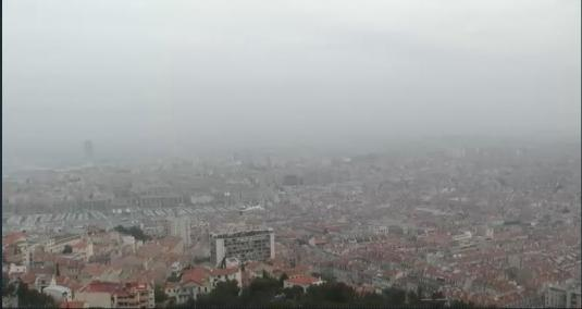 City of Marseiile Panorama Weather Web Cam Marseille France