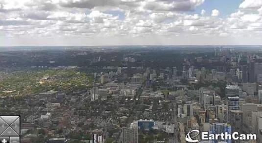CN Tower Toronto Downtown Traffic Weather Web Cam City of Toronto Canada