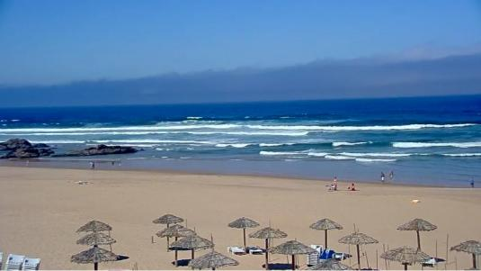 Praia do Guincho Beach Surfing Weather Web Cam Cascais Portugal