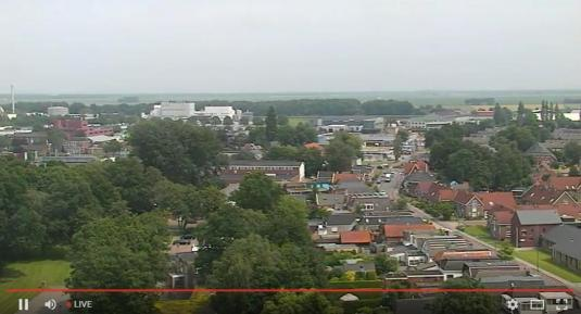 Veendam Live Town Weather Web Cam North East Netherlands