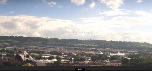 Glastonbury Music Festival 2016 HD Weather Web Cam Glastonbury Somerset
