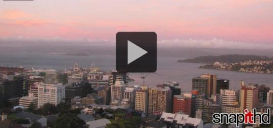 Wellington City Live Weather Web Cam New Zealand