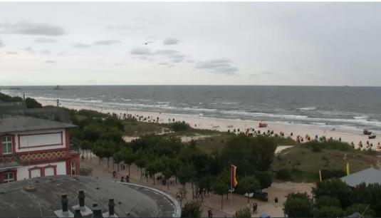 Island of Usedom Streaming Beach Resort Weather Web Cam Germany