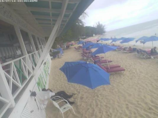 Mullins Beach Resort Beach Weather Web Cam West Coast Barbados Caribbean