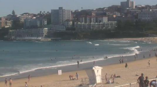 North Bondi Beach Surfing Beach Weather Web Cam Sydney Australia