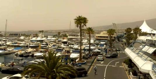 Costa Adeje Puerto Colon Harbour Weather Web cam Tenerife