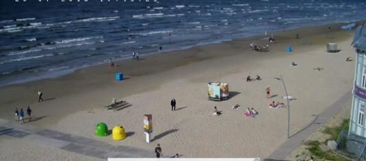 Jurmala Beach Resort Majori Beach Weather Cam Jurmala Resort Latvia